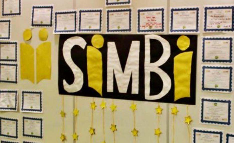 Simbi Wall in School